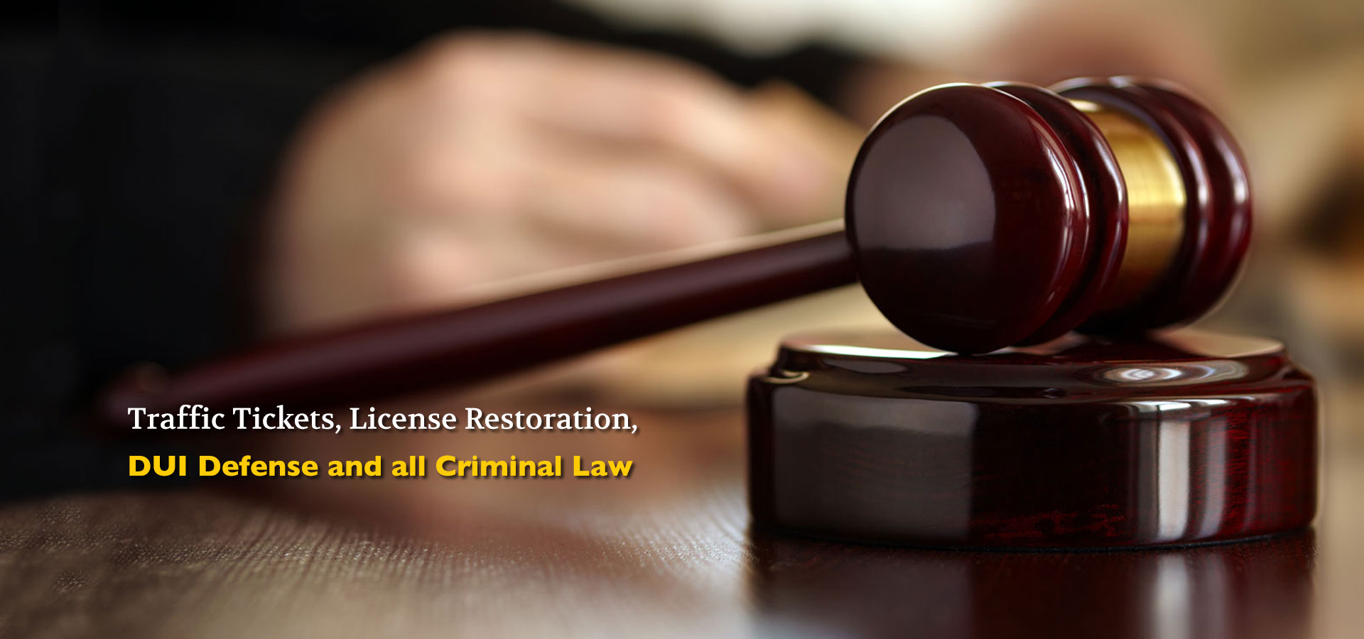 Richmond Township DUI Lawyers MI